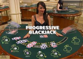 Progressive Online Casino Blackjack for Singapore
